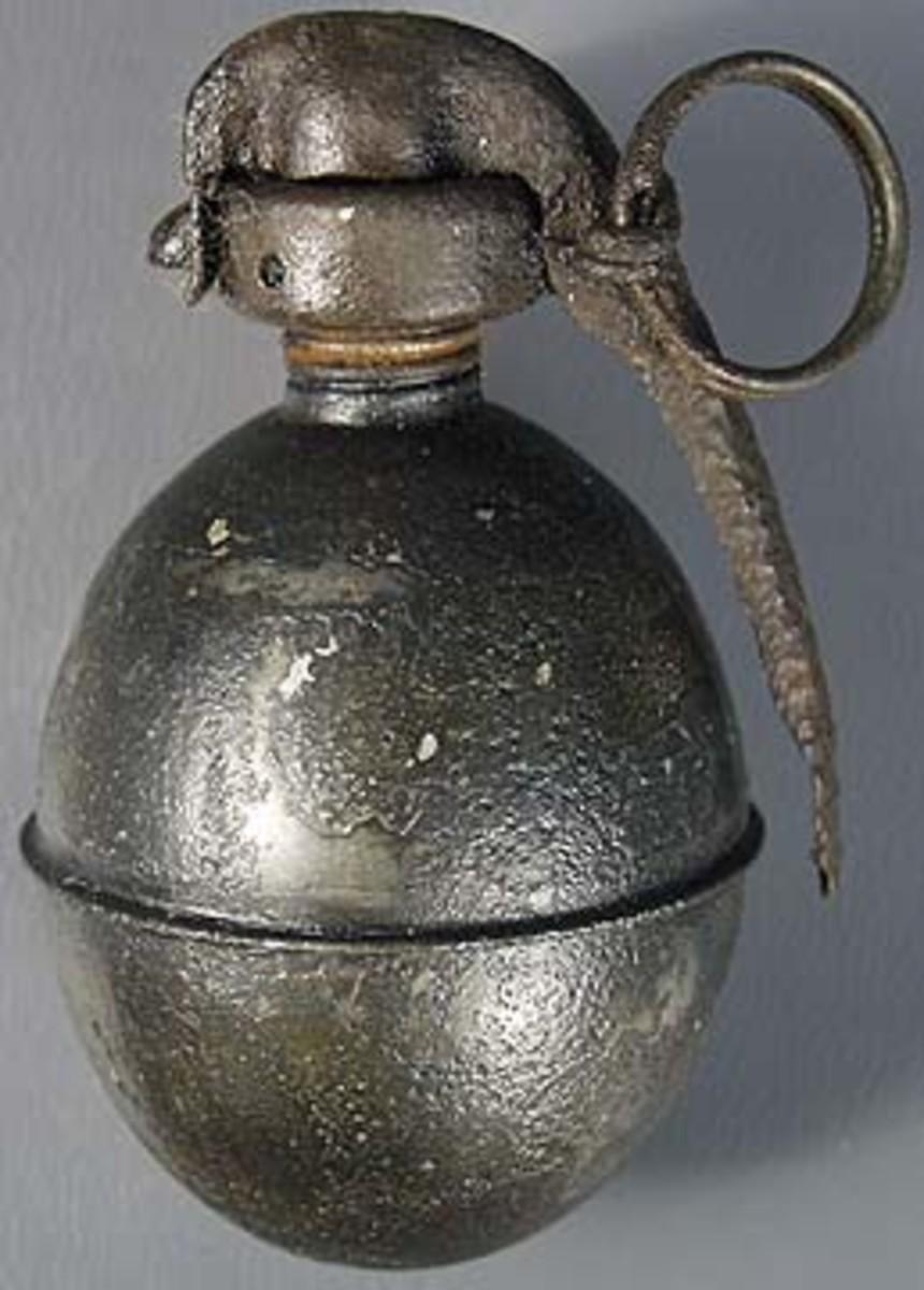 French OF1 Grenade