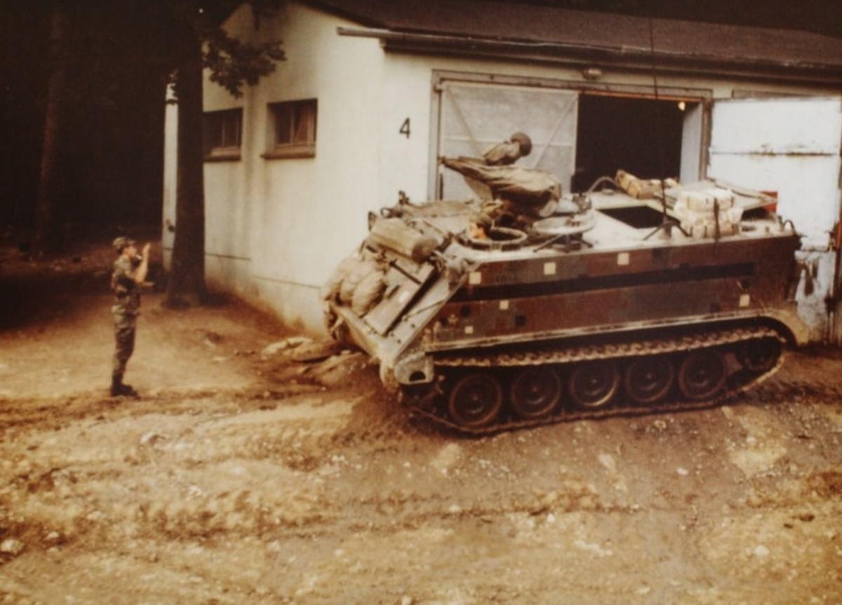 M113 Camp Read Roetz, West Germany