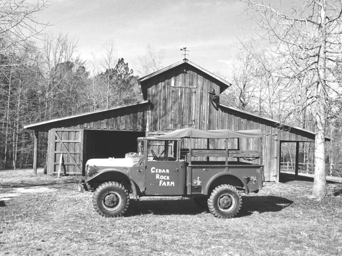 This is the M37 when it came from the Morehead City [North Carolina] Fire Department in 1987. It wasn't until it was back at our farm in Georgia when I discovered the early serial number.