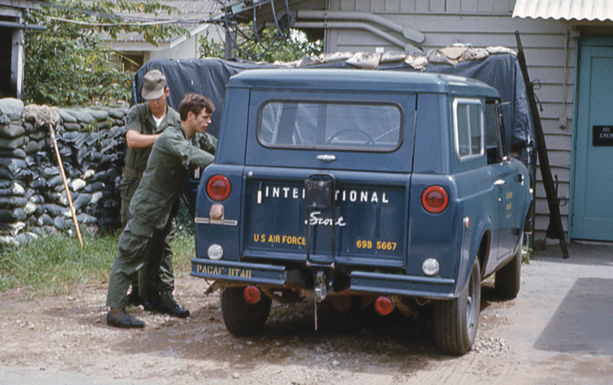 International Scout in Vietnam (no other info on the original slide).