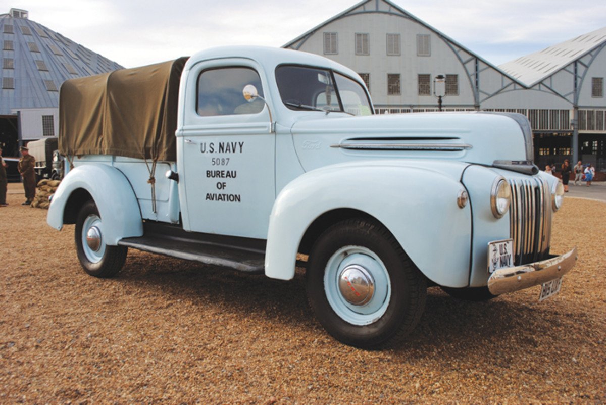 Ford 21C pick-up owned by John Chatham.