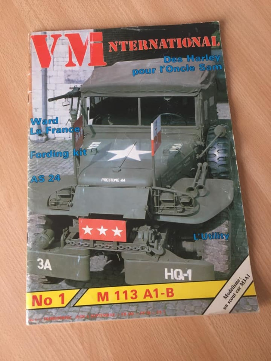 June 1984 cover of VM International showing the Command Car