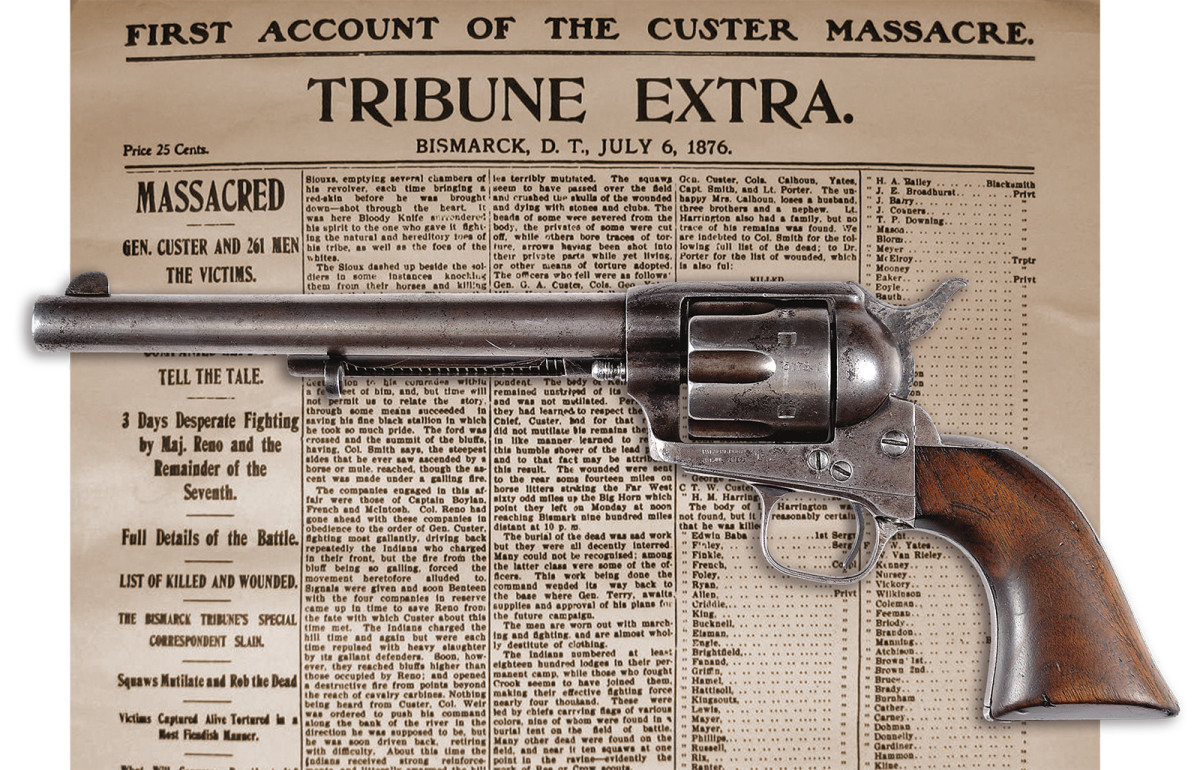 Colt SA traced to the Battle of Little Big Horn