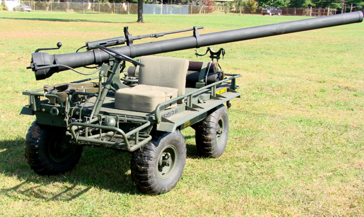 M274 Mule WITH a recoilless rifle