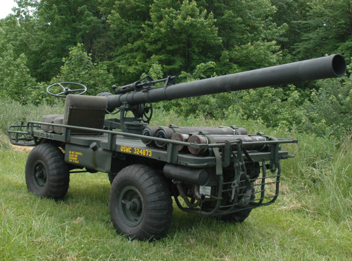 M274A5 Mule with 106mm Recoilless Rifle.