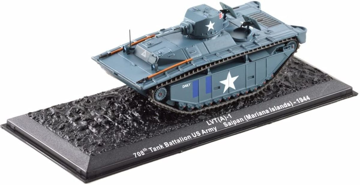 1/72 scale LVT(A)-1 only $14.99
