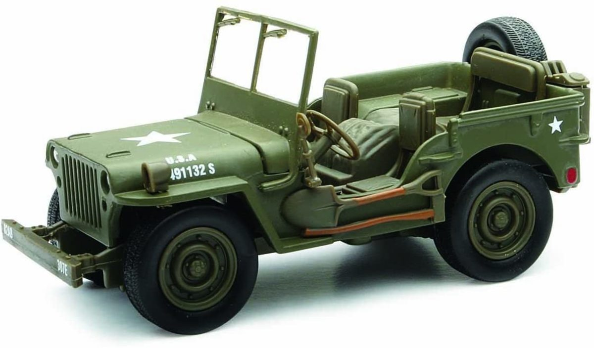1/32 scale Willys WWII Jeep is just $11.50