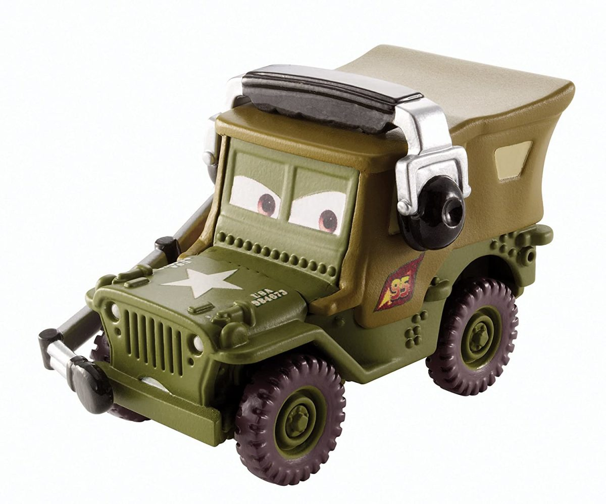 Disney's Sarge in 1/55 scale is $11.99