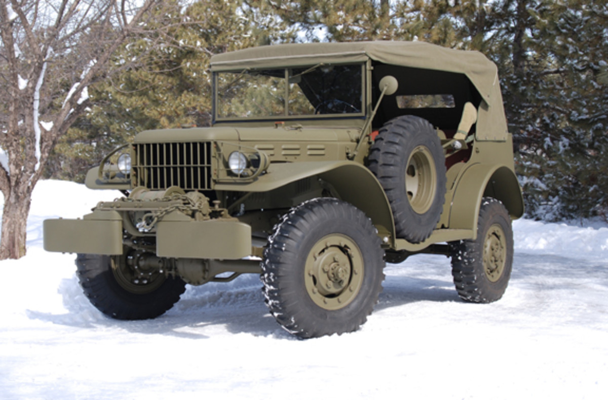 WC-57 Command Car restored by MV Specialities, LLC.