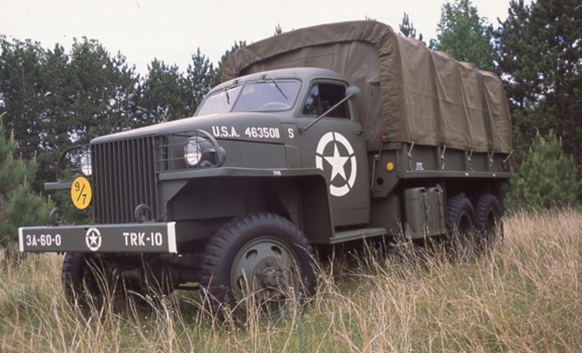 US-6 cargo truck restored by Kevin Kronlund