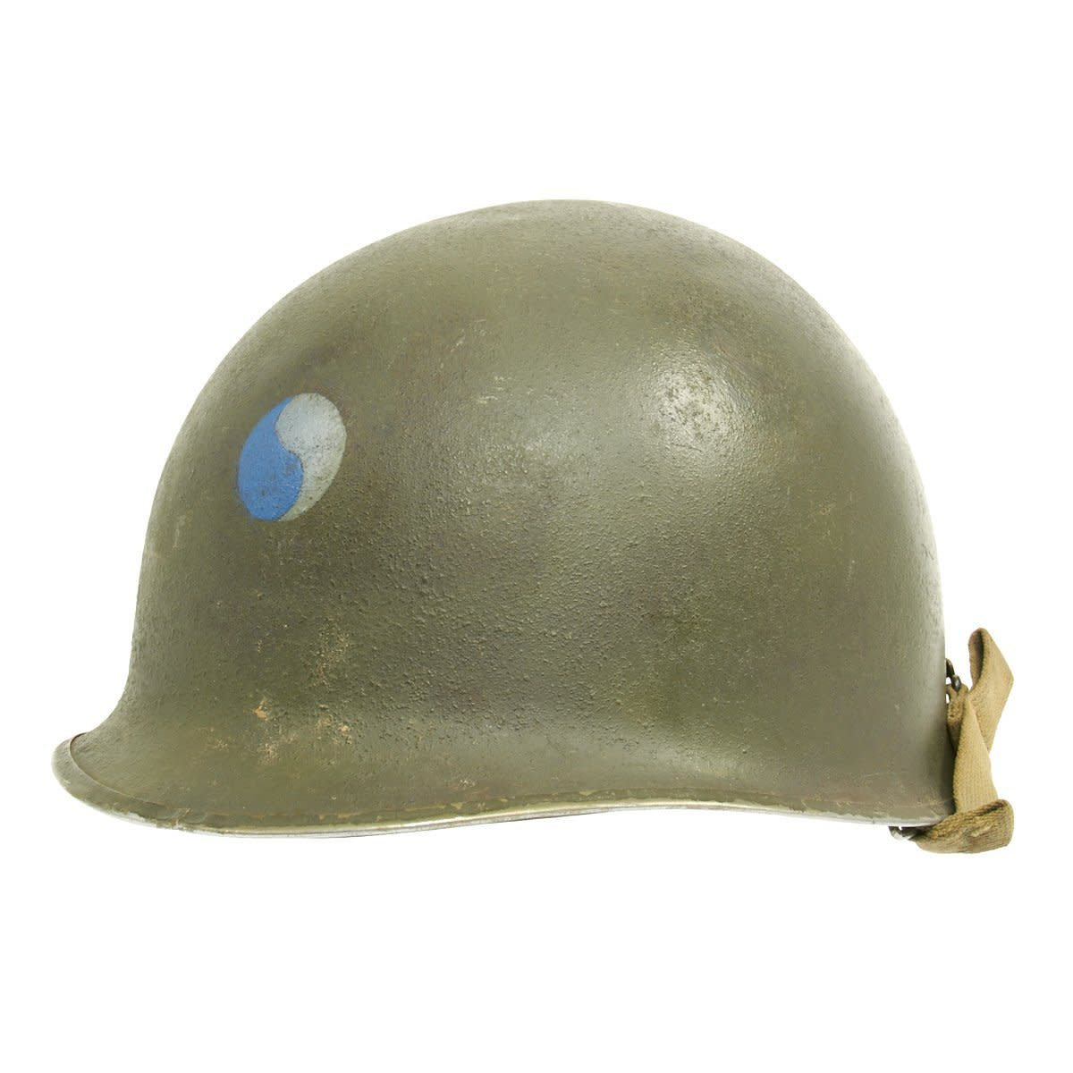 M1 helmet with 29th Division insignia