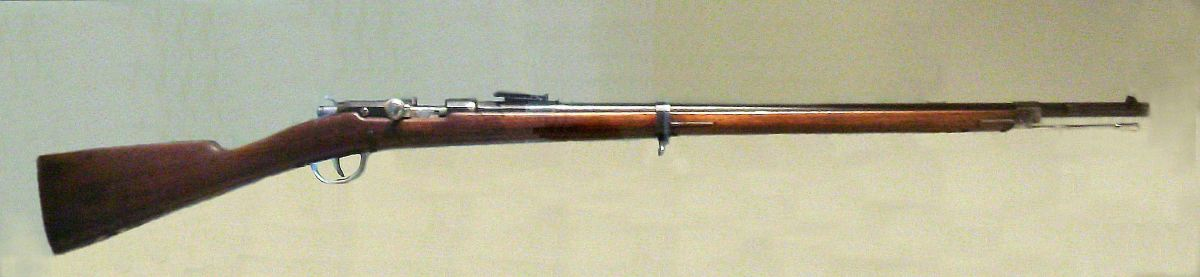 The Fusil Modèle 1874 or Gras was the French Army's primary service rifle from 1874 to 1886.