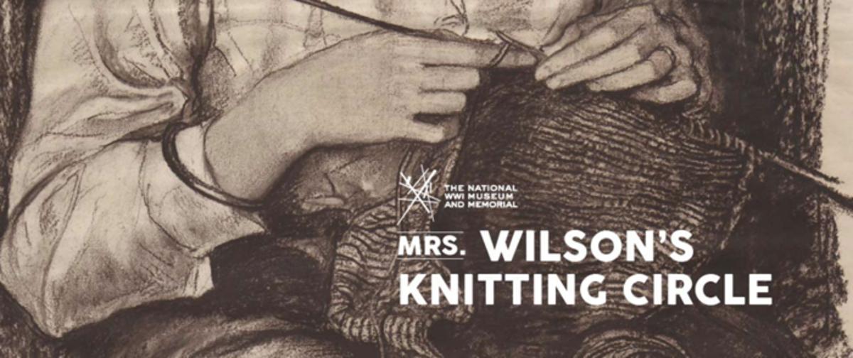 Mrs. Wilson Kn itting Circle