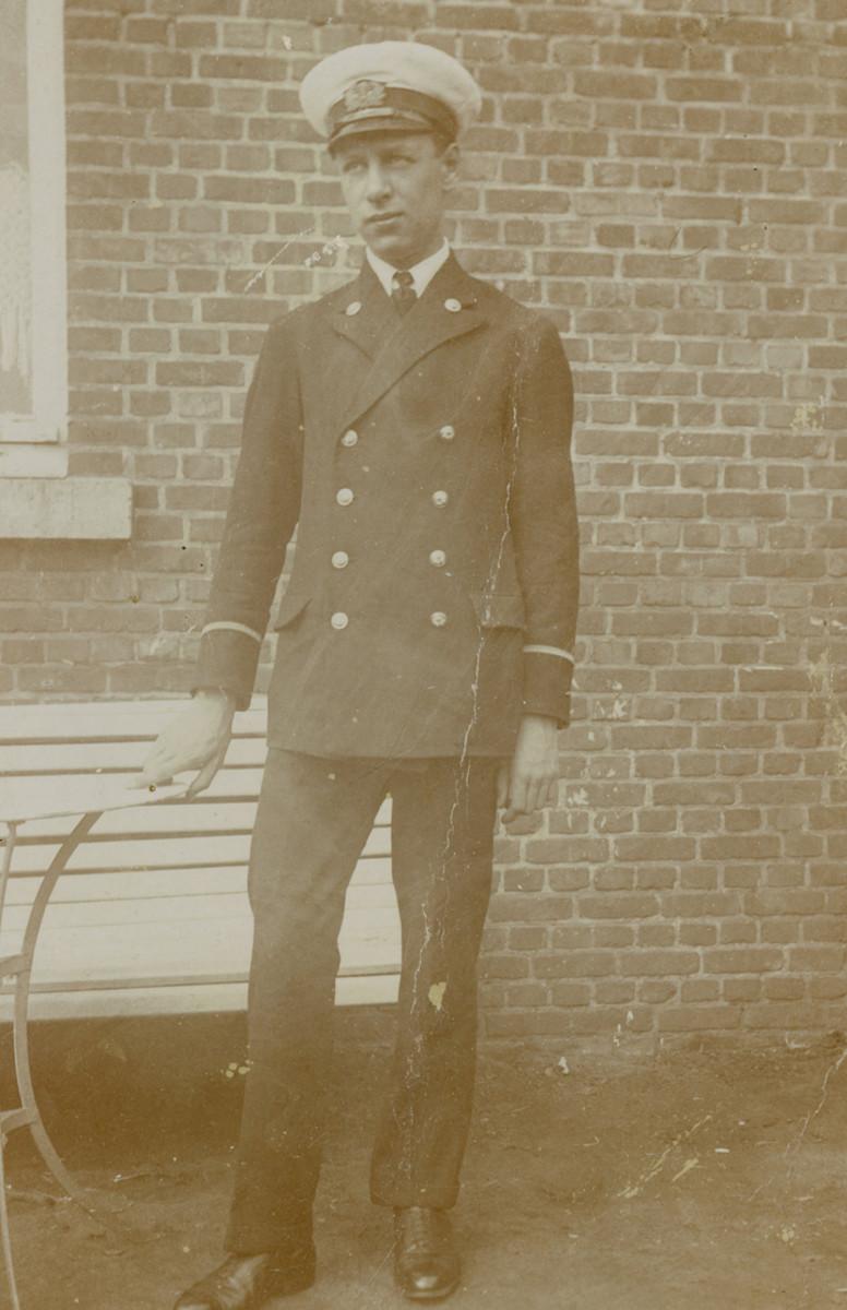 Robert Coninx, Belgian Merchant Navy, ca. 1938