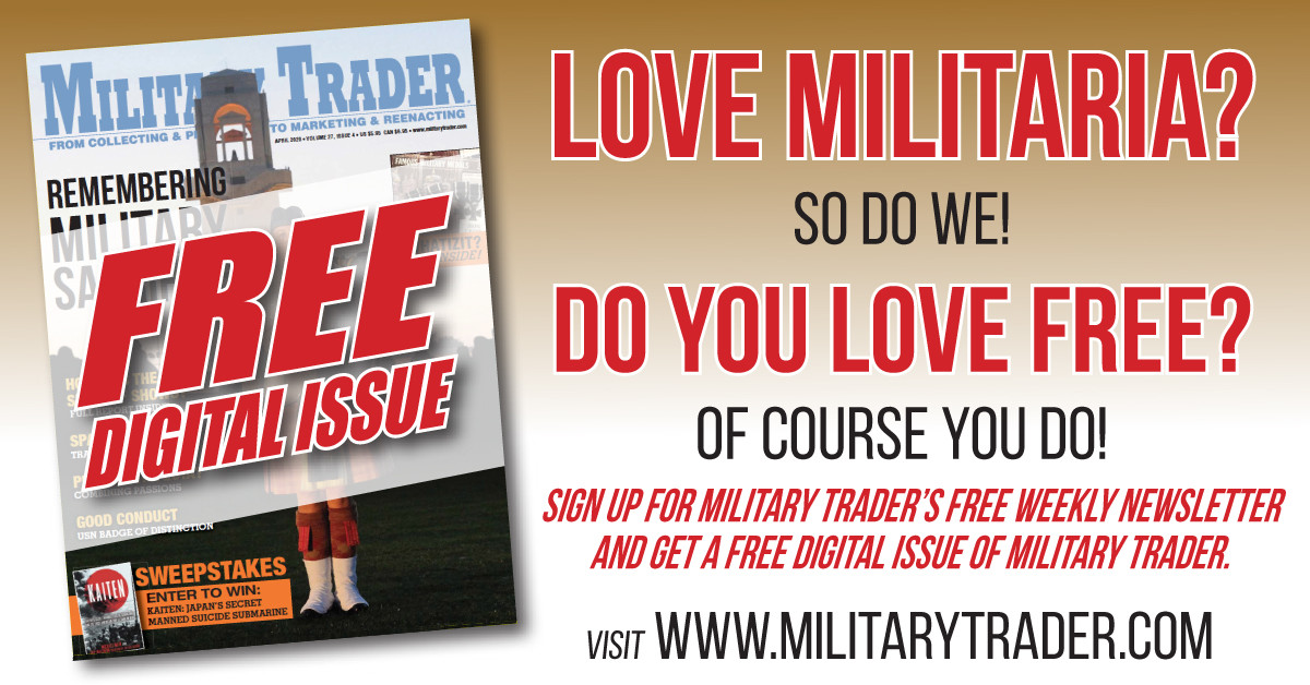 Free sample. Visit: https://hub.militarytrader.com/subscription-2