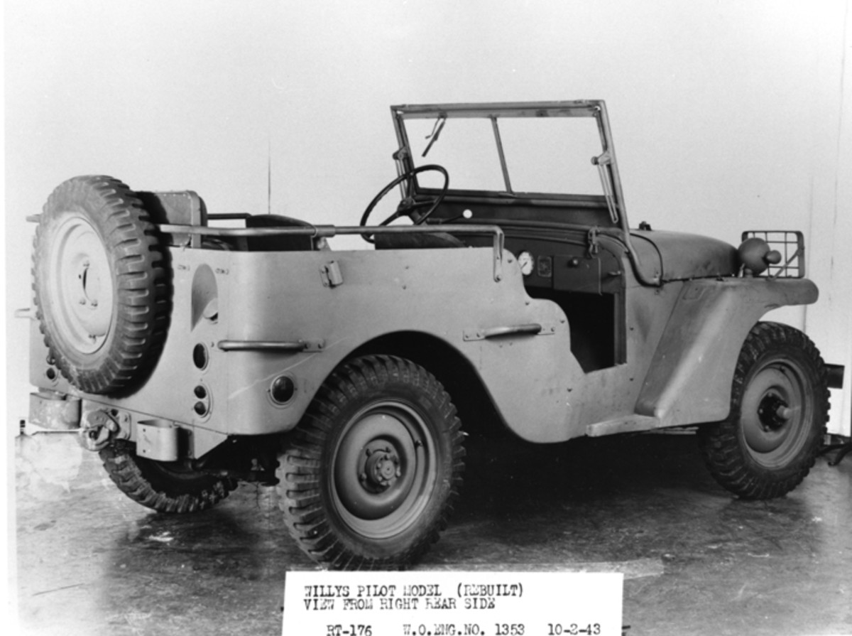 Willys powered their vehicle with an engine of their own design. With a displacement of 134.2 cubic inches.