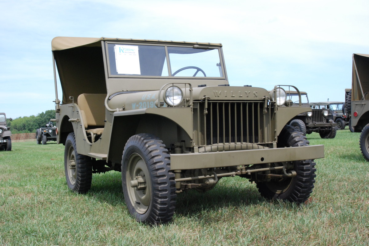 Willys MA restored by Chet Krause.