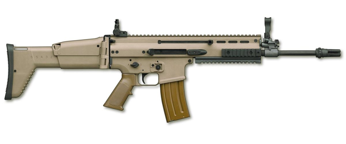 Unlike many currently fielded 5.56x45mm rifles, controllability under recoil is a hallmark of the MK 16, allowing the operator to readily engage targets with multiple well-aimed rounds. The MK 16 has been tested and fielded with U.S. Armed Forces.