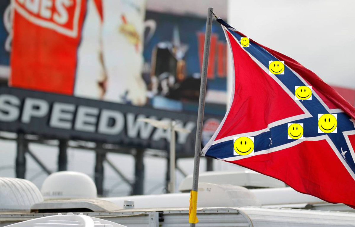 As of June 11, 2020, NASCAR, the US Navy, and the US Marines are among the organizations that have banned the public display of Confederate flags.
