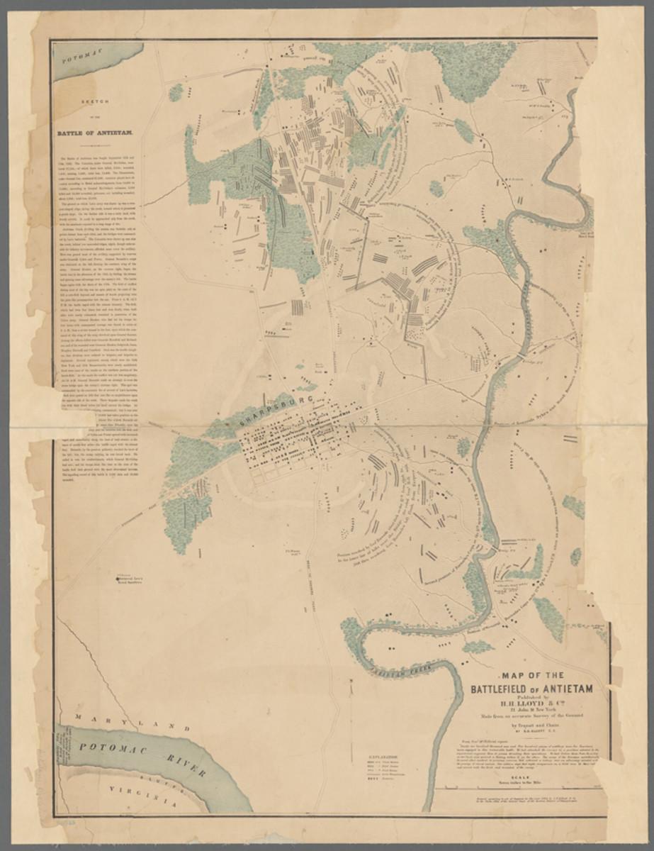 Antietam Map 1