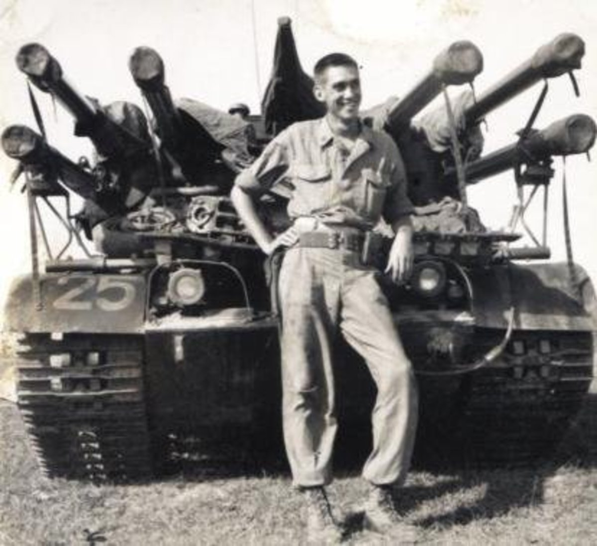 Preston Sewell was an Ontos crewman from 1962-66 with the USMC 1st Anti-Tank Bn and 3rd Anti-Tank Bn. Communications