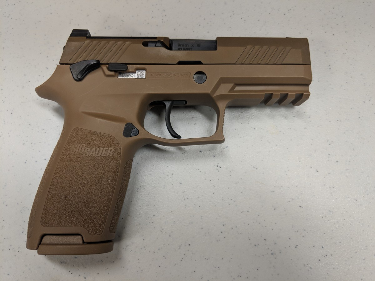 The Air Force Security Forces Center, in partnership with the Air Force Small Arms Program Office, has begun fielding the new M18 Modular Handgun System to Security Forces units. The Air Force Life Cycle Management Center's Small Arms Program Office acquired approximately 125,000 M18s from Sig Sauer for $22.1 million. (