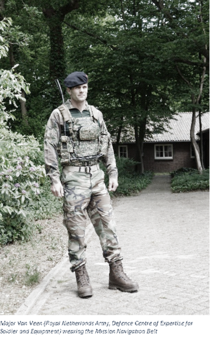"""Major Van Veen, of the Royal Netherlands Army Defence Centre of Expertise for Soldier and Equipment, explained: """"Modern soldiers have access to incredible, hi-tech navigation systems, but these all require soldiers to keep checking their screens constantly. This makes an already dangerous job even more dangerous because it reduces situational awareness."""""""