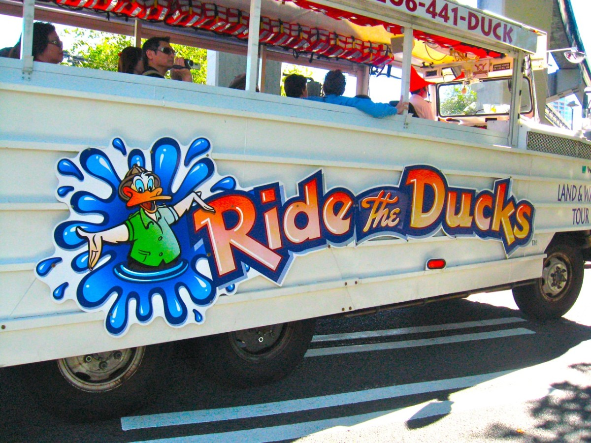 Ride the Ducks has been a long-standing tourist attraction in Seattle, Wash. A combination of financial struggles including a significant crash in 2015 resulting in a lawsuit and the loss of business due to COVID-19 forced the company to close. The WWII surplus DUKWs and later versions were sold at auction in July 2020.