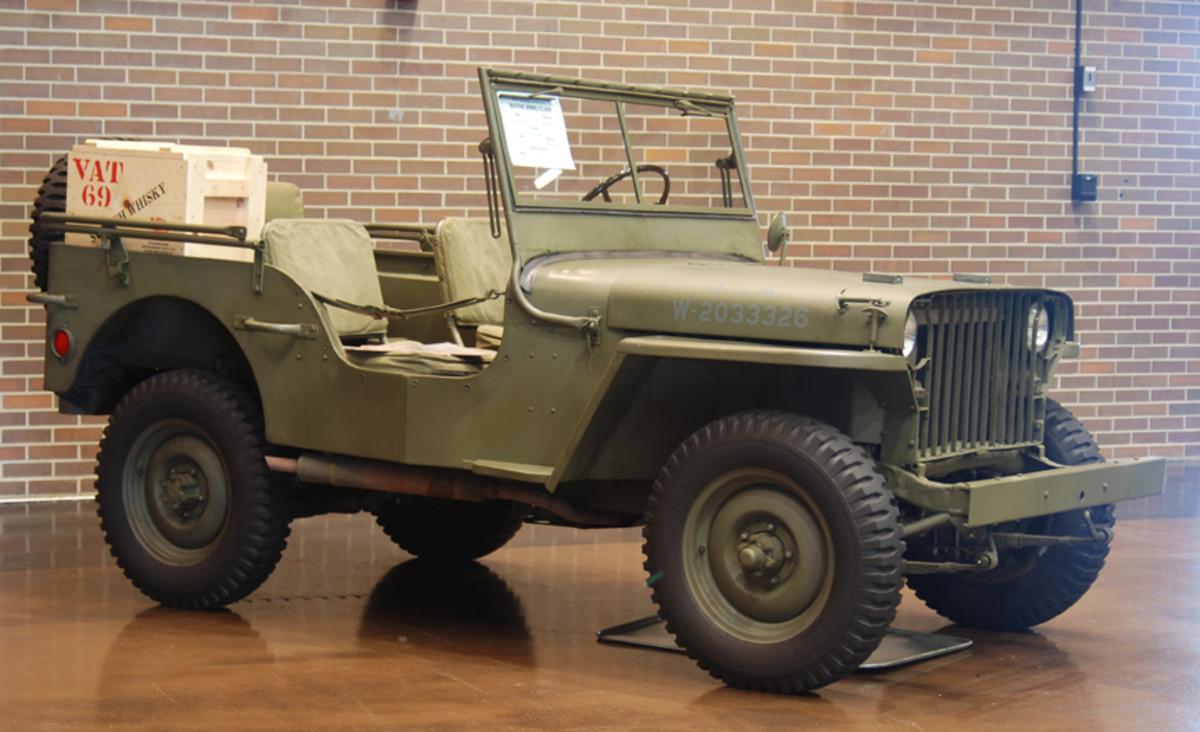 Mark Ingram, 1941 Willys MB