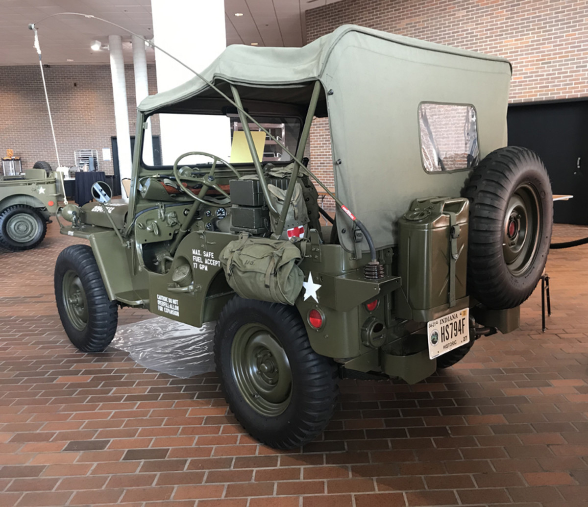 Tracy Emmons, 1952 Willys M38
