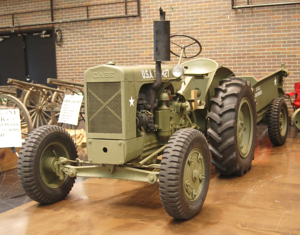 Tim Evans 1952, JI Case tractor SI