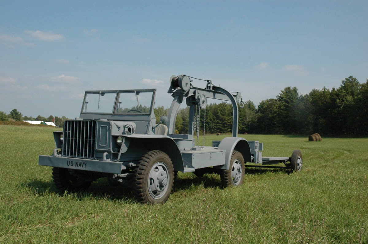 GTBS bomb service truck restored by the Spooner Military Vehicle Preservation Group.