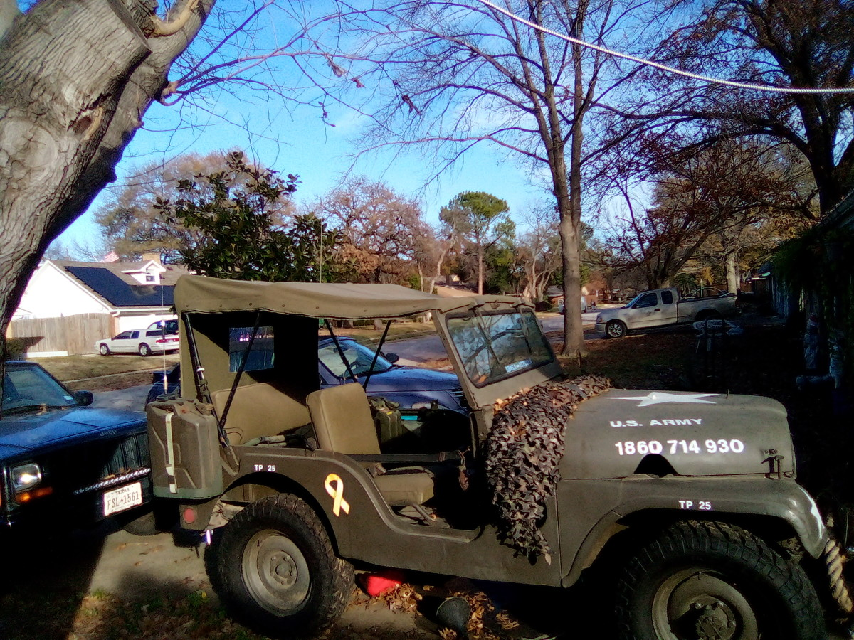 Andy Barreintos shared this photo of has 1952 Willys Overland M38A1.