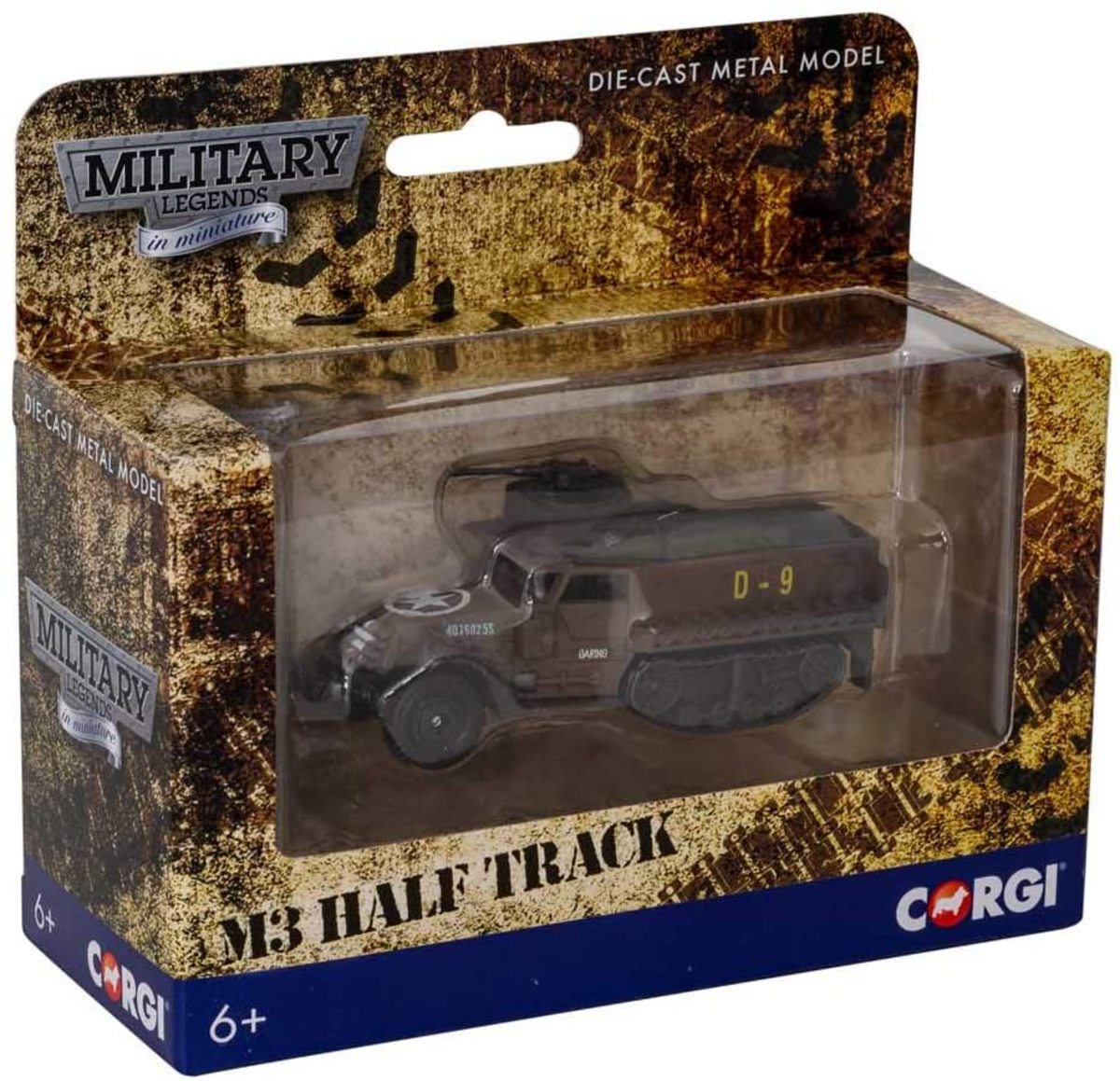 Who doesn't love a good half-track? This Corgi diecast is available for about $13.