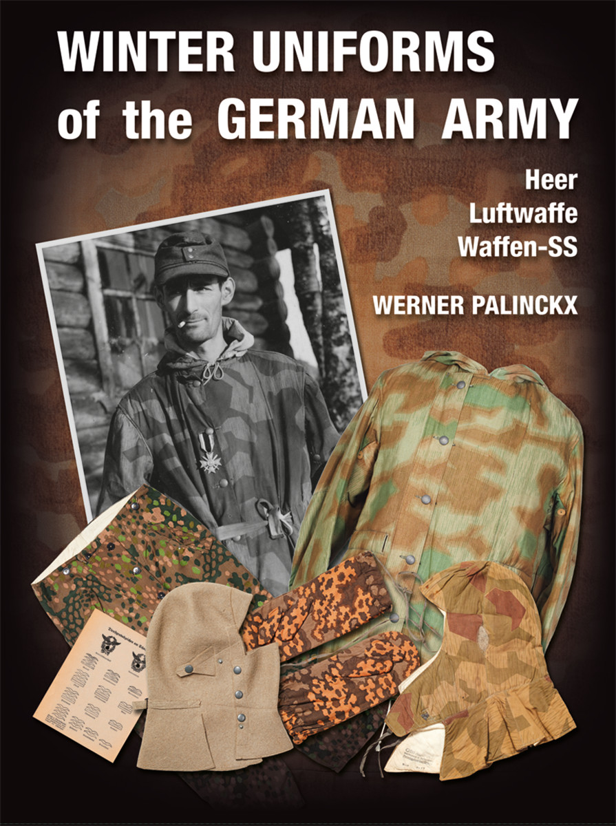 Winter Uniforms of the German Army: Heer Luftwaffe Waffen-SS, byWerner Palinckx,ISBN: 9783963600166,448Photos: Approx. 1,100 color photos & 250 period photos,Zeughaus Verlag, Berlin 2019 available through Amazon for about $105