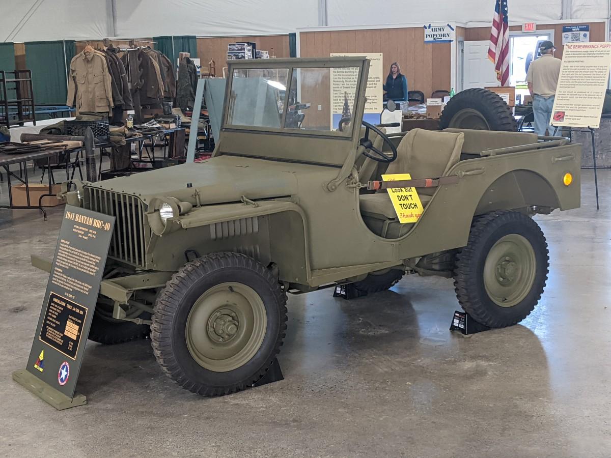 Pete Shaw's April 1941 Bantam BRC-40, fresh off a 5-year restoration!