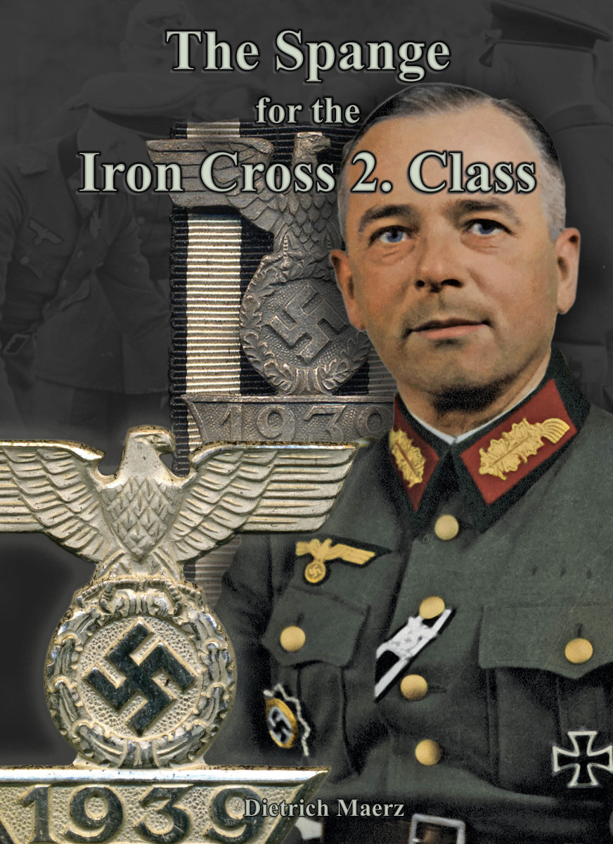 The Spange for the Iron Cross 2. Class, by Dietrich Maerz,$105 +shipping & tax