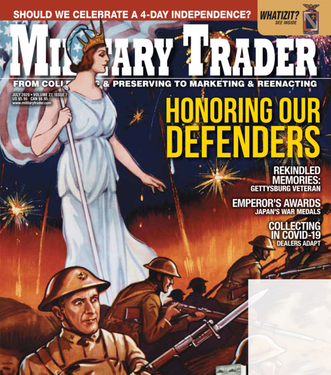 GIVE SOMEONE A REAL GIFT — and it lasts all year!Military Trader (12 times a year!) for just $18.98!