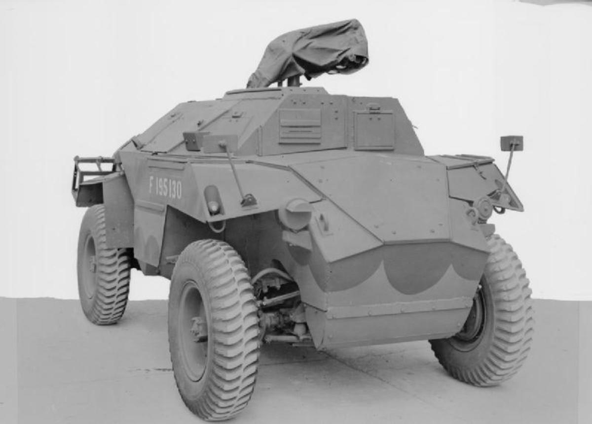 The Humber Scout Car was a British light scout car used in the Second World War. It entered service in 1942 and continued in production until 1945. Designed for reconnaissance, and liaison between armoured units, it provided protection only against light arms fire, so was not a front line vehicle. More importantly it was small and fast and could quickly evade trouble.
