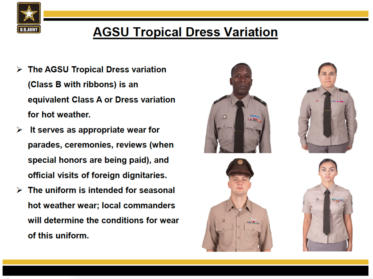 Tropical dress Variations