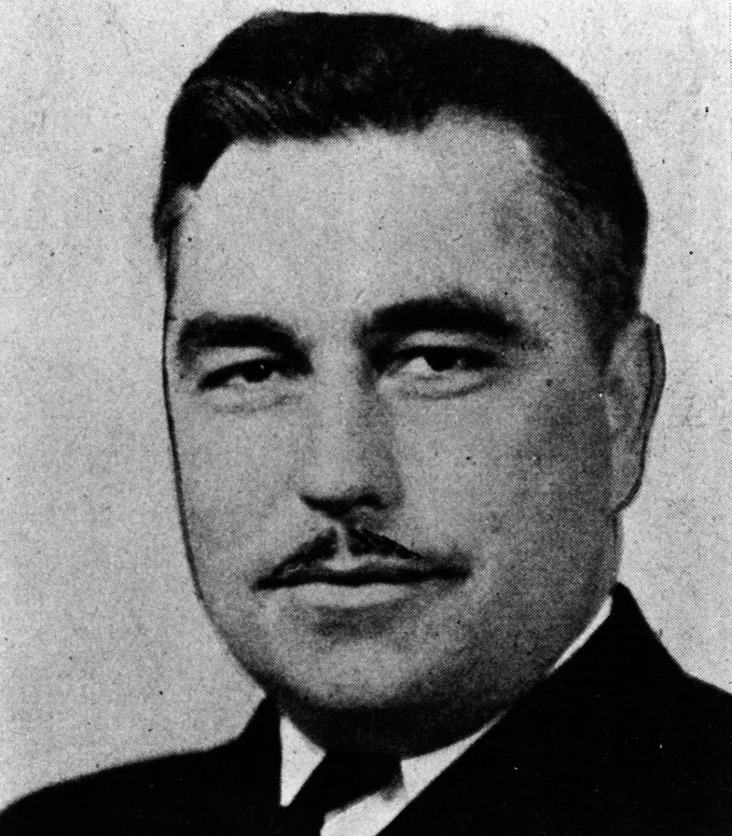 Commander Ernest Edwin Evans, USN