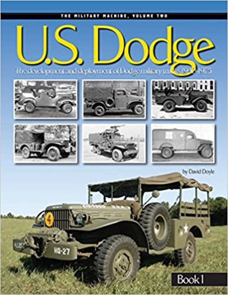 Definitive 2-volume set on military Dodge 3/4-ton trucks