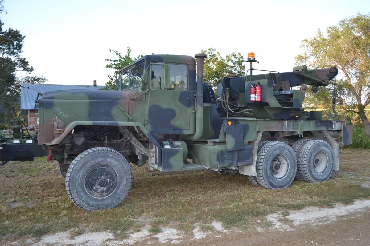 1984 M936 wrecker.
