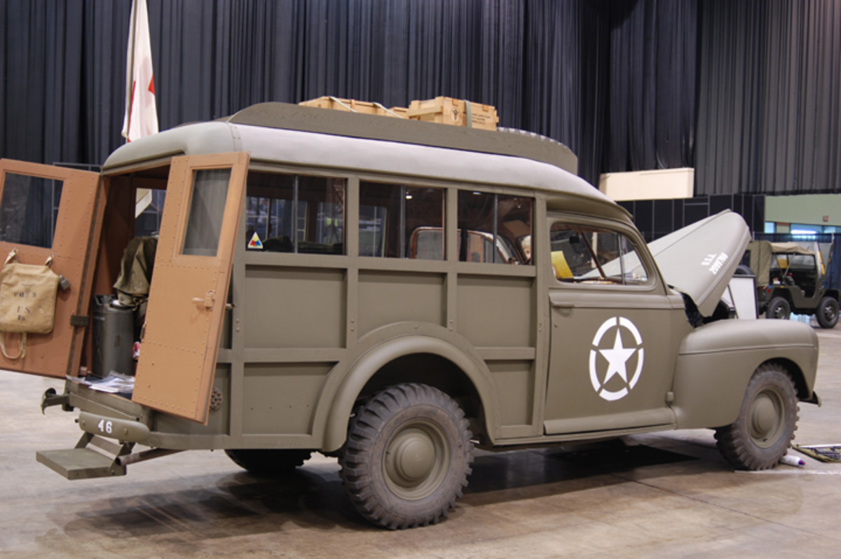 Ford / Schult Trailers Auxiliary Ambulance restored by Mike Nickels