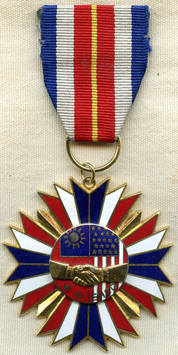 SACO medal, obverse