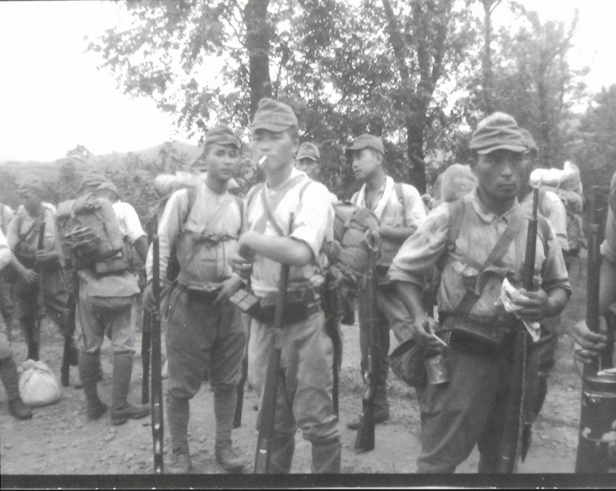 """SACO consisted of 2,964 American (Navy, Army, and Marine) servicemen, 97,000 organized Chinese guerrillas, and 20,000 """"individualists"""" who included rival pirate groups as well as lone-wolf saboteurs."""
