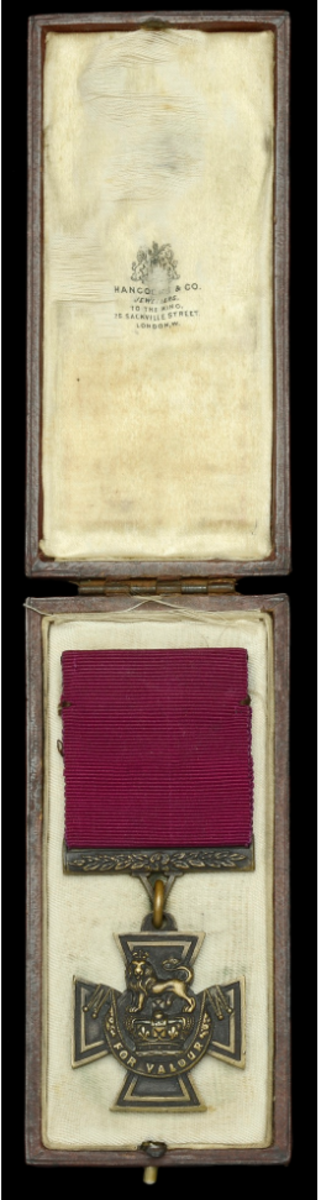 Victoria Cross with its Hancocks & Co. case of issue sold as part of a group for £248,000