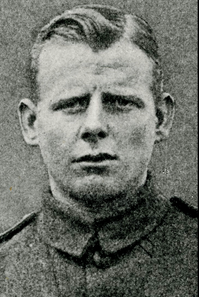 21-year-old Lancashire Lad Private James Towers, 2nd Battalion, The Cameronians (Scottish Rifles)