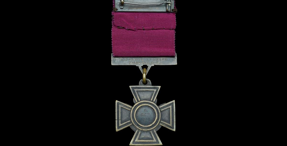 Victoria Cross, reverse.