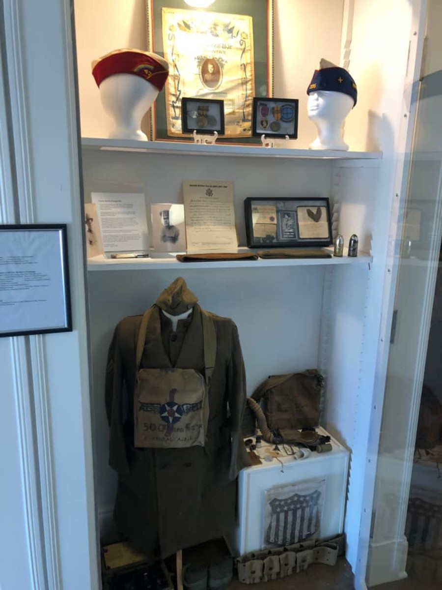 """William Parker: """"I have a display at the local museum in town."""""""